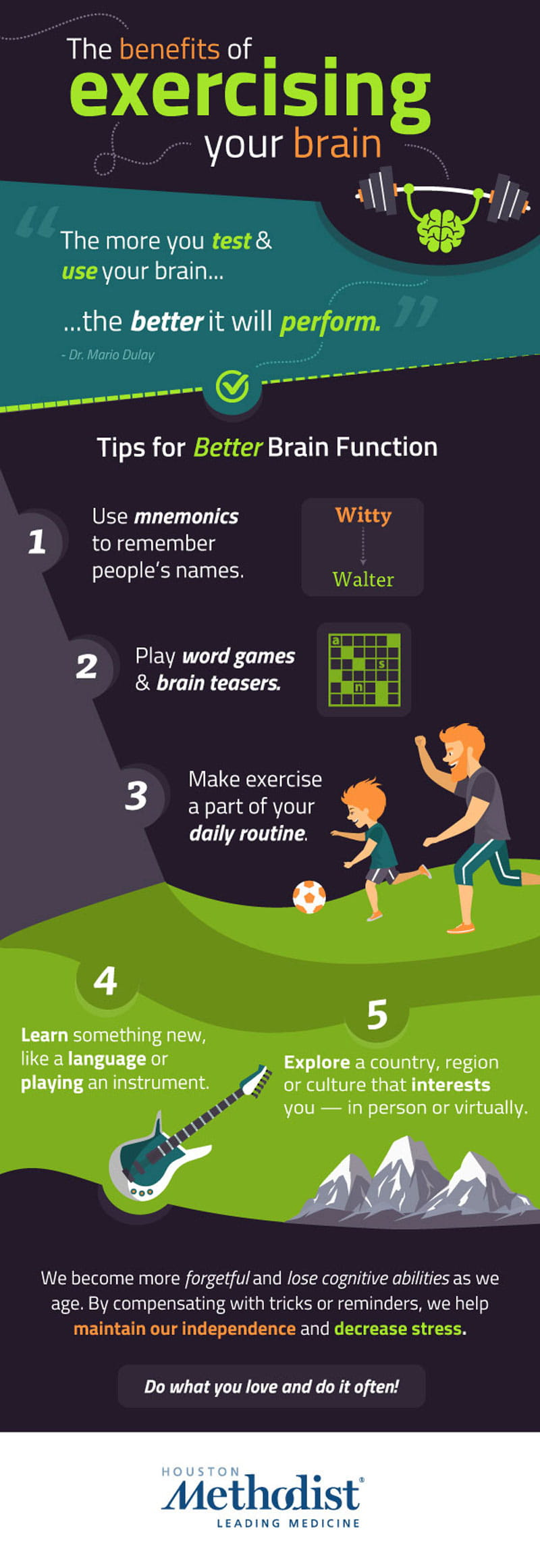 how to exercise your brain to keep it young