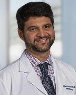headshot of Abhishek H. Kansara, MD, MPH, FACE