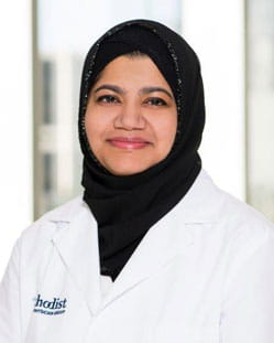 headshot of Jawairia Shakil MD, FACP
