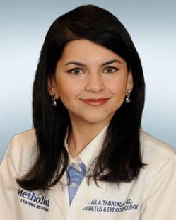 headshot of Laila S. Tabatabai, M.D.