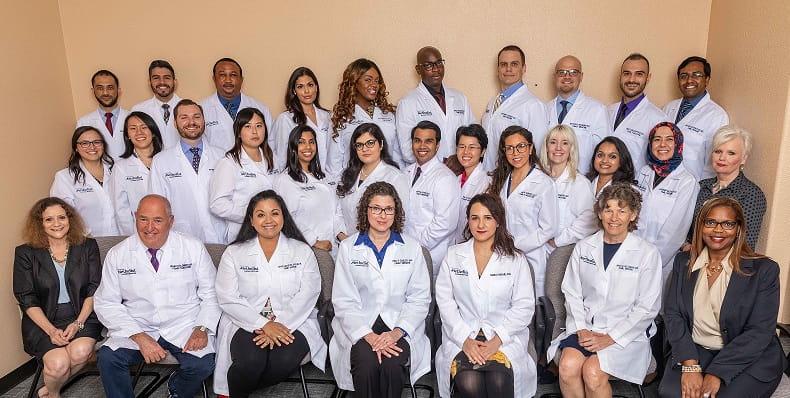 group photo of Family Medicine Residency Program 2019