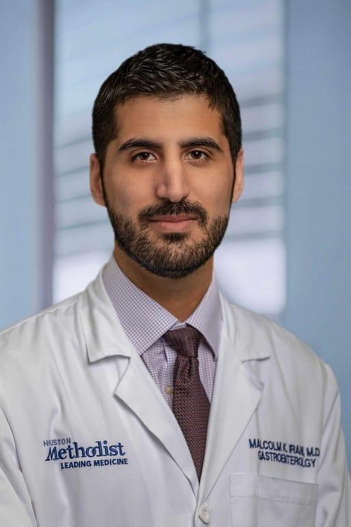 headshot of Malcolm Irani, MD