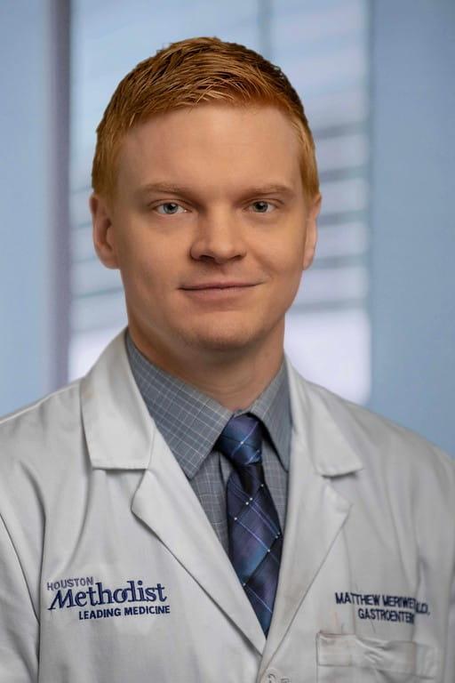 headshot of Matthew Meriwether, MD