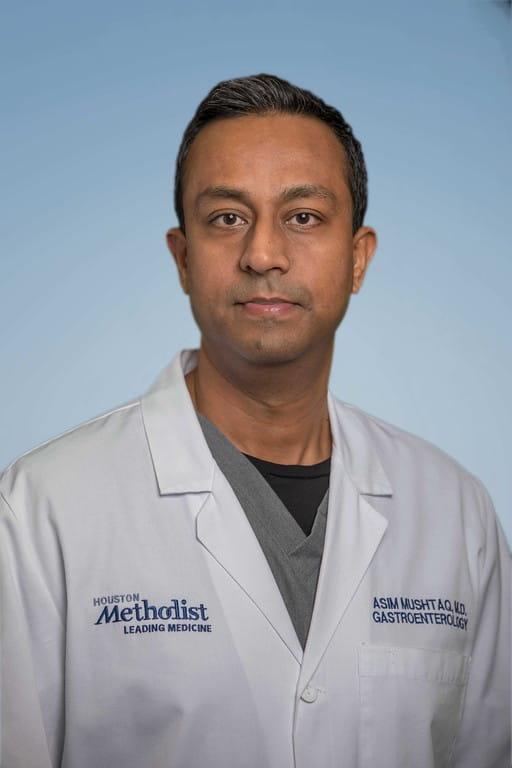headshot of Asim Mushtaq, MD