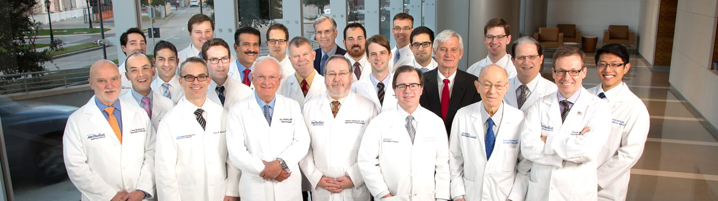 Department of Neurosurgery Faculty and Residents