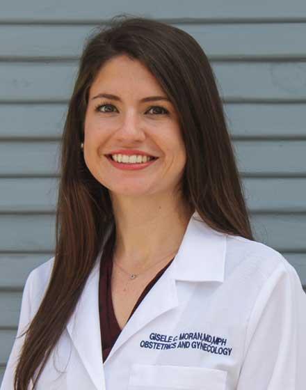 headshot of Giselle Moran, MD