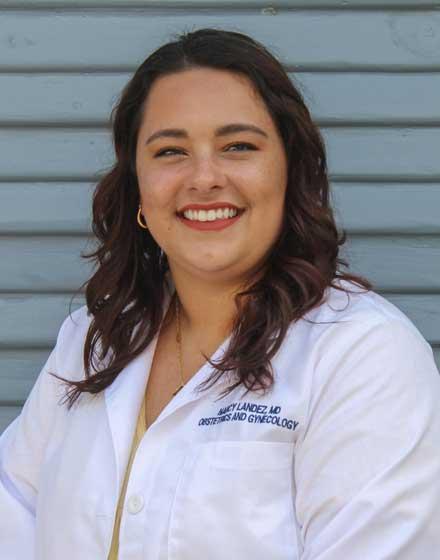 headshot of Nancy Landez, MD