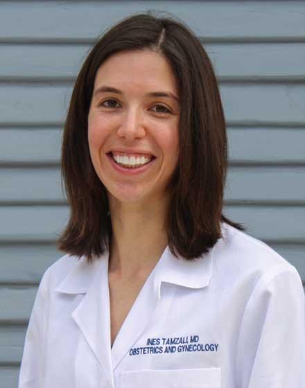headshot of Ines Tamzali, MD