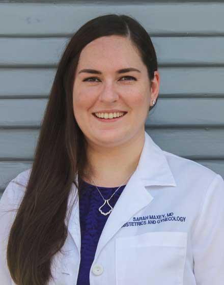 headshot of Sarah Maxey, MD