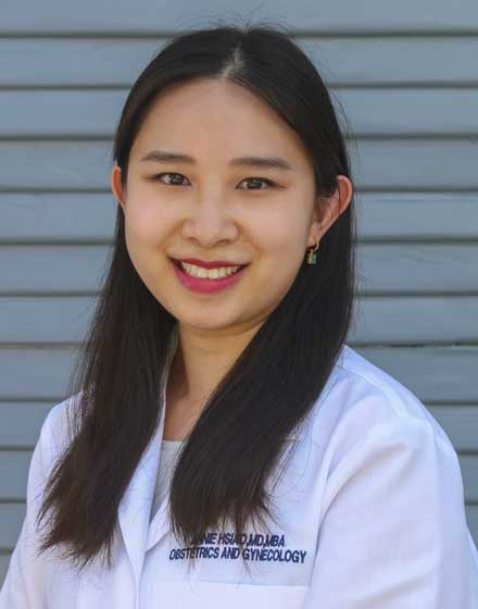 headshot of Annie Hsiao, MD, MBA