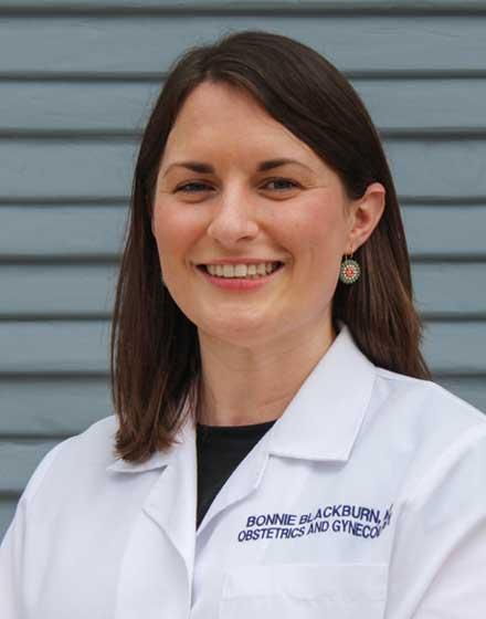 headshot of Bonnie Blackburn, MD