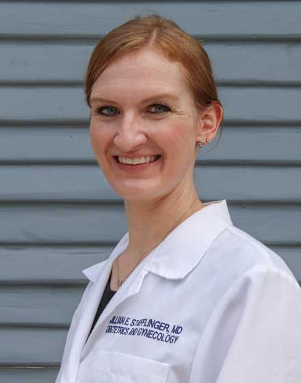headshot of Jillian Stafflinger, MD