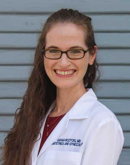 headshot of Sarah Rozycki, MD