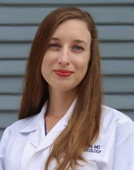 headshot of Cara Hankins, MD