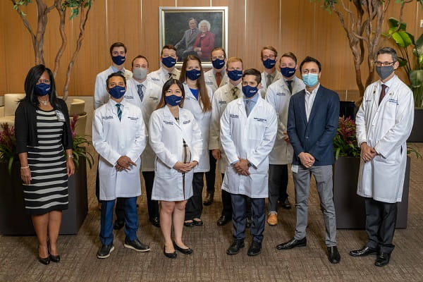 group photograph of Radiology residents.