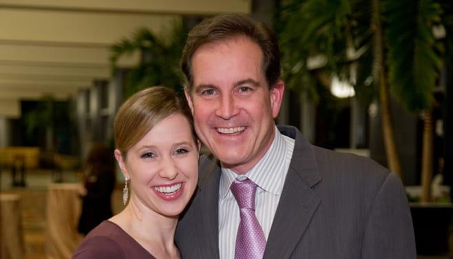 Jim and Courtney Nantz