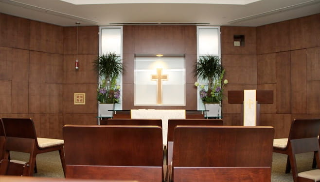 Houston Methodist West hospital chapel