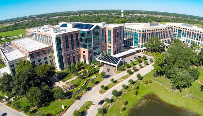 Houston Methodist Katy hospital building