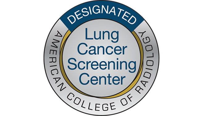 Designation Lung Cancer Screening Center
