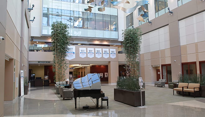 Houston Methodist Willowbrook Hospital North Pavilion Lobby