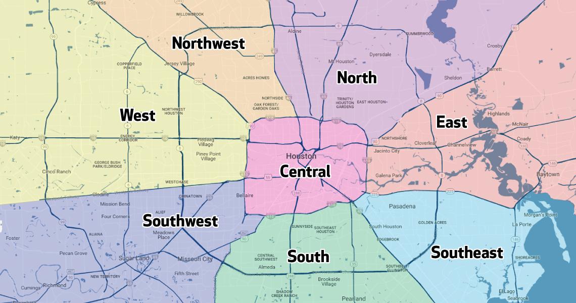 Houston Methodist Primary Care Group - Regions