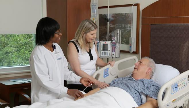 Houston Methodist St. Catherine hositpal patient and staff member
