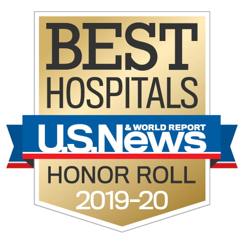 U.S. News & World Report has named Houston Methodist Hospital to its Honor Roll, a list of the top hospitals in the country.