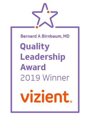Vizient announced today that four Houston Methodist hospitals have received a 2019 Vizient Bernard A. Birnbaum, M.D., Quality Leadership Award. Houston Methodist was the only hospital system in the country to receive four awards.