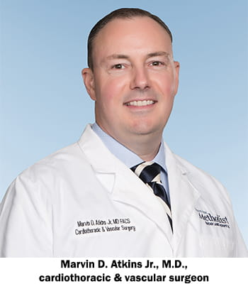 Dr  Marvin D  Atkins Jr  joins Houston Methodist Cardiovascular