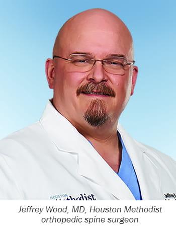 Jeffrey Wood, MD, Houston Methodist orthopedic spine surgeon
