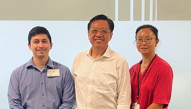 ACTM Core Staff Photo-Wong, Cui, Vasquez
