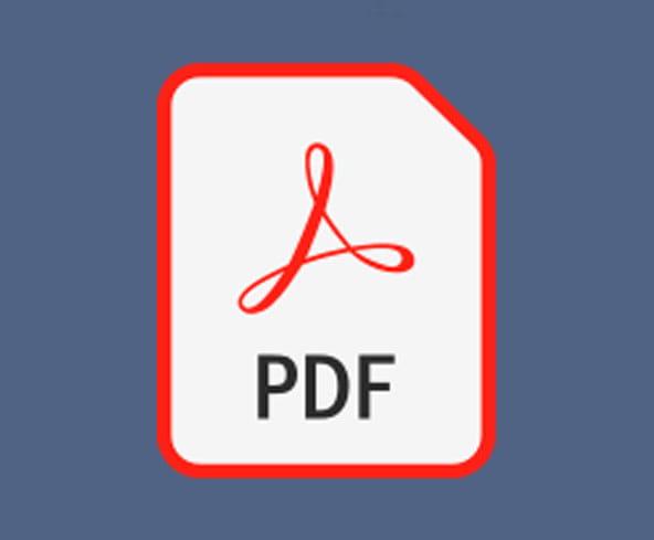image of PDF icon