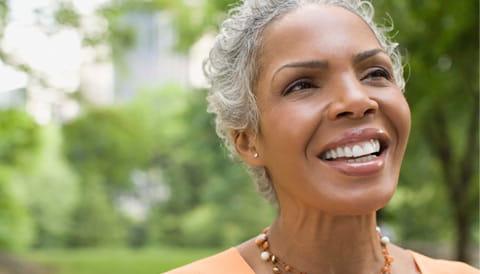 Cancer survivor celebrating life