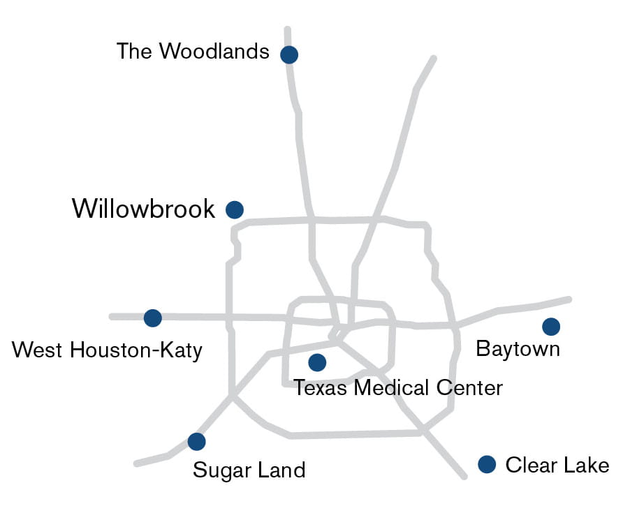 Cancer Center Map