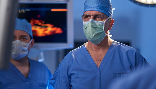 Aortic experts in the operating room