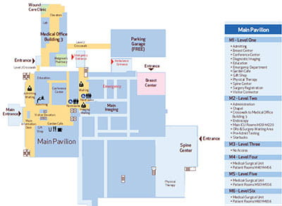 Huston Methodist Sugar Land Campus Map