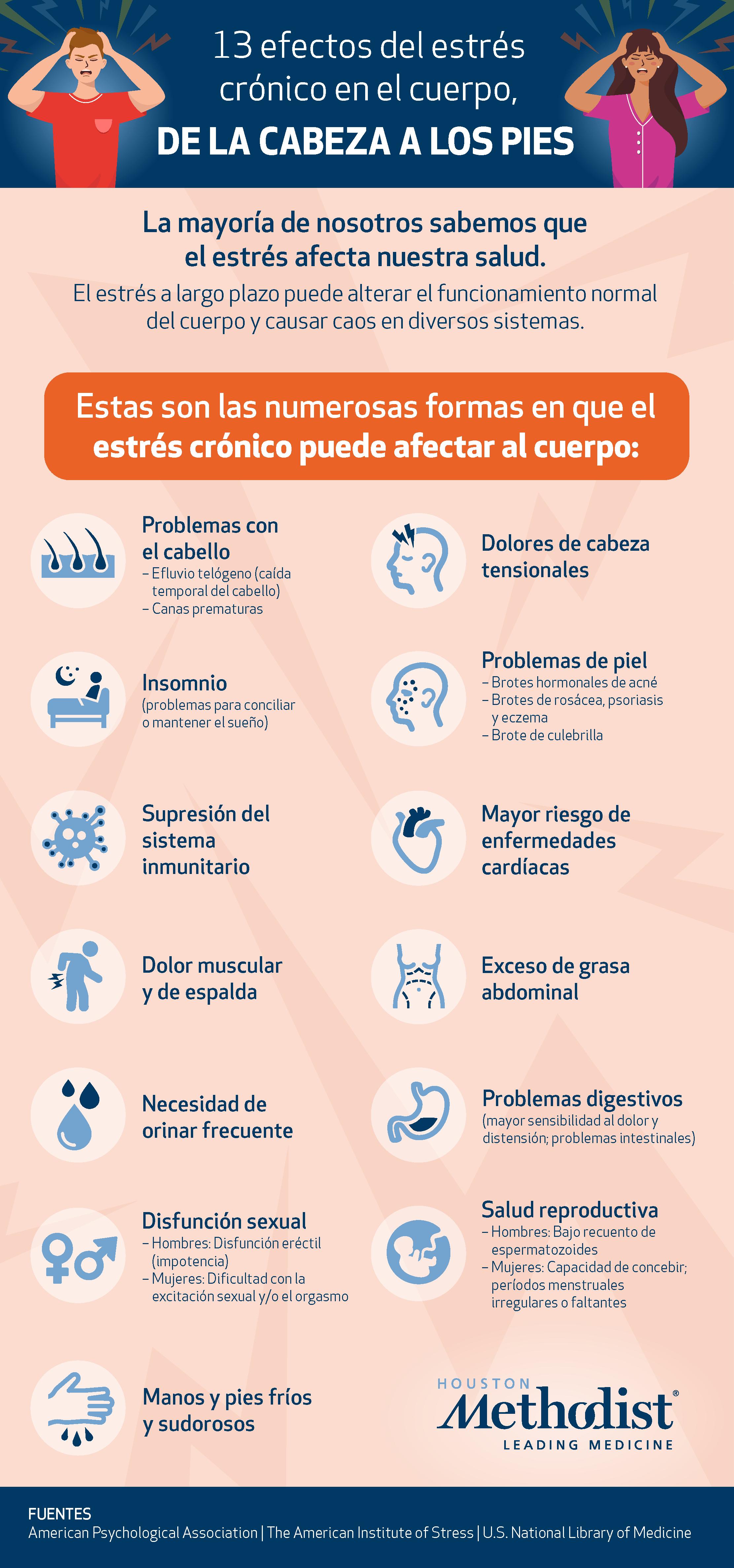 Chronic Stress Infographic