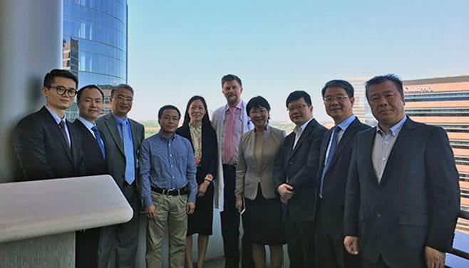 Weizhou Medical University Visit