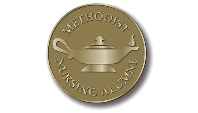 Houston Methodist Nursing Alumni logo