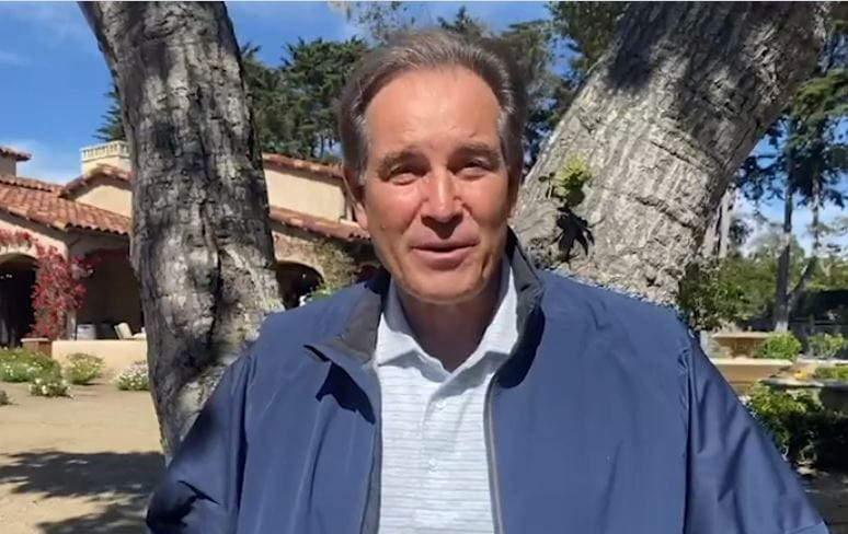 Jim Nantz celebrates the 10 year anniversary of the Nantz National Alzheimer Center