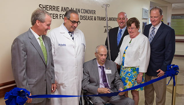 Sherrie and Alan Conover Center for Liver Disease & Transplantation