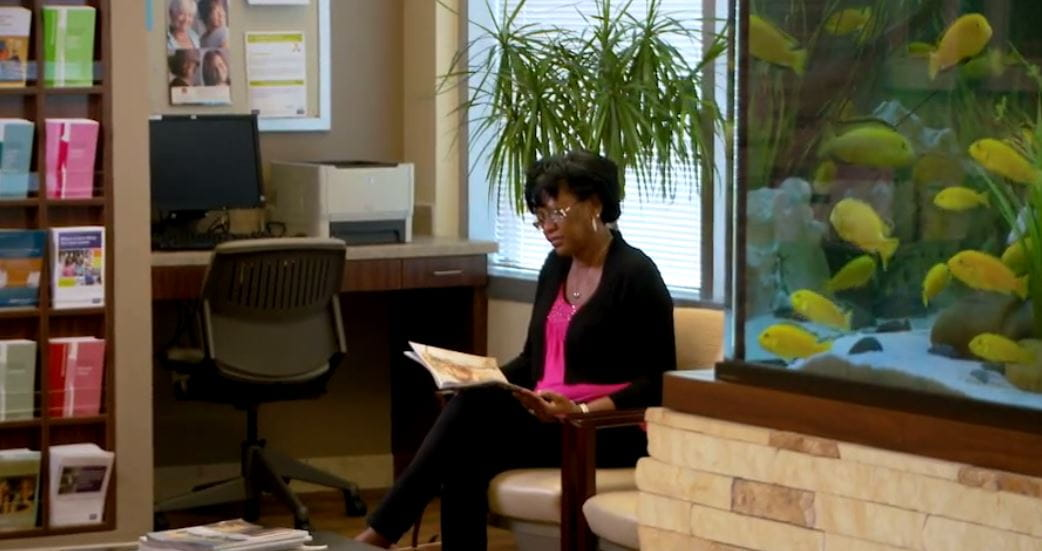 Click to view cancer center video