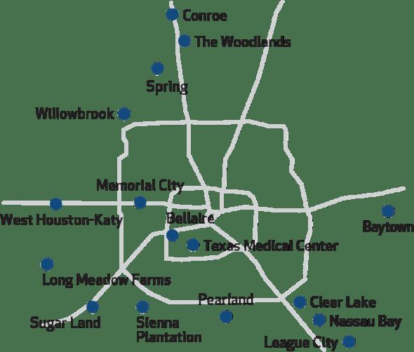 Map Of Texas Medical Center.Primary Care Sports Medicine Houston Methodist Orthopedics