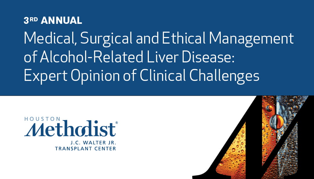 3RD ANNUAL MEDICAL, SURGICAL AND ETHICAL MANAGEMENT OF ALCOHOL-RELATED LIVER DISEASE