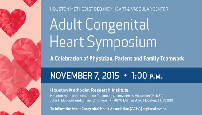 Adult Congenital Heart Symposium