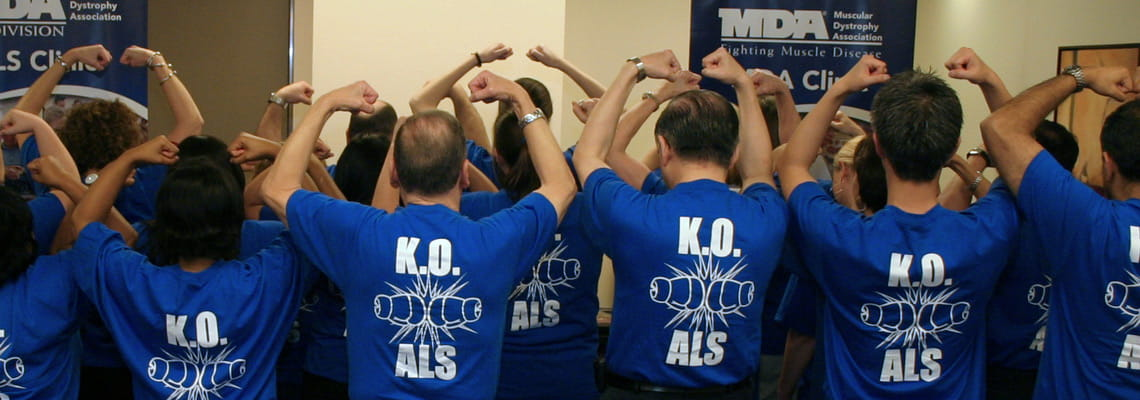 ALS team members at Houston Methodist Neurological Institute
